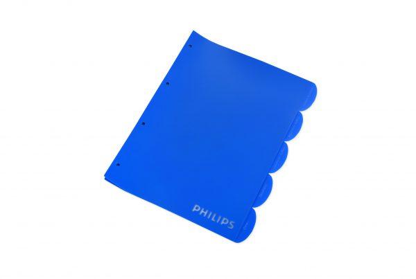 bedrukte kunststof tabbladen, full colour bedrukte transparante tabbladen, tabbladen met bedrukking